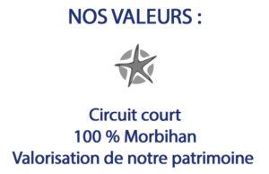 les valeurs étoile de sel bretagne morbihan