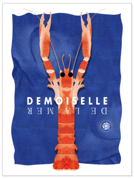 la langoustine est la demoiselle de la mer on l'aime avec de la mayonnaise ou en affiche