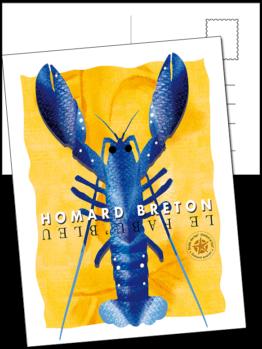 le fabu'bleu est le homard du morbihan en bretagne
