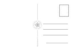 Présentation du Verso des cartes postales pour étoile de sel'