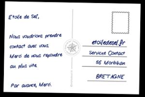 Formulaire de contact pour joindre fe le site etoiledesel.fr