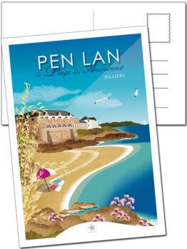 Au pied de rochevilaine se trouve la plage des amoureux sur la pointe de pen-lan à Billiers